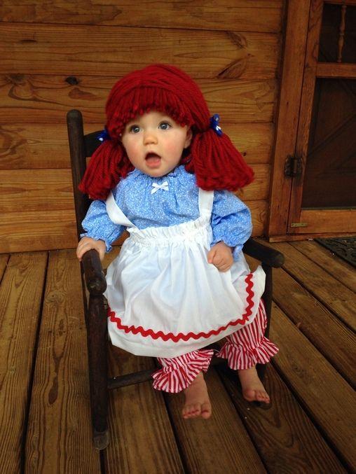 30 Increíbles Ideas Para Disfrazar A Los Más Pequeños De La Casa Este Halloween Disfraces De Halloween Infantiles Raggedy Ann Halloween Disfraces