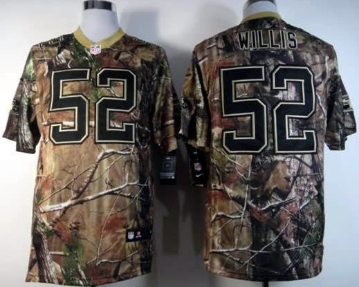 hot sale online 97b7d 61a6b 49ers #52 Patrick Willis camo Realtree Nike NFL Jersey ID ...