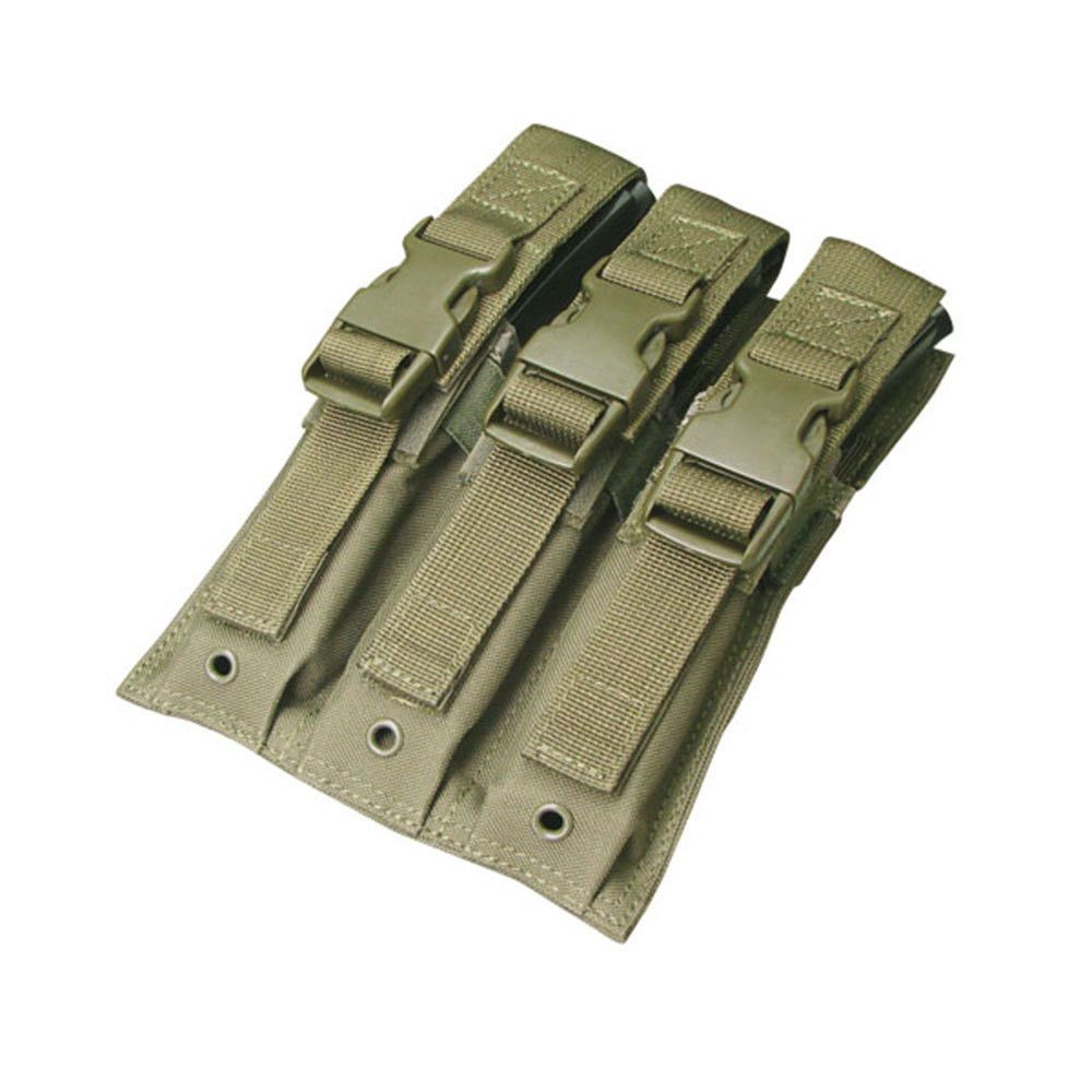Triple MP5 Mag Pouch Color- OD Green