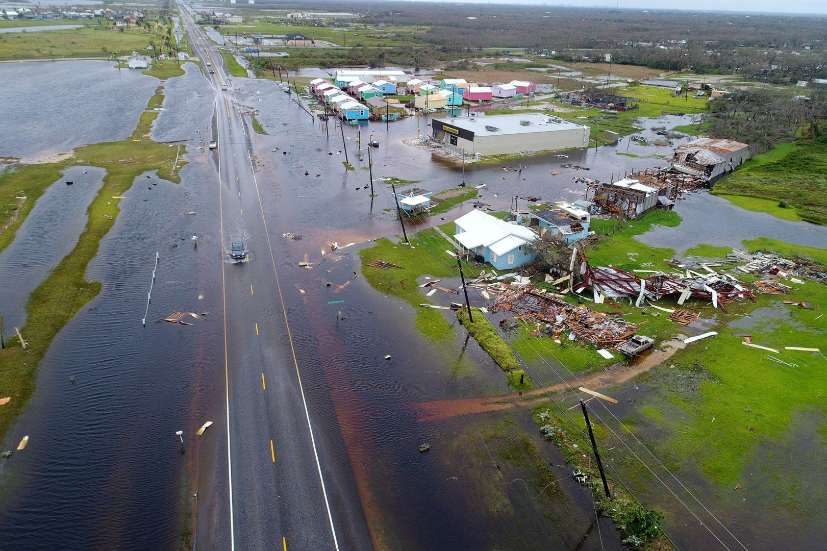 A Look At The Devastating Destruction Caused By Hurricane Harvey Therese