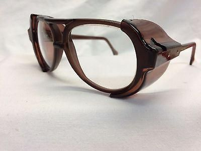 AMERICAN OPTICAL AO Vintage New Old Stock Safety Glasses Pilot Slate Clear