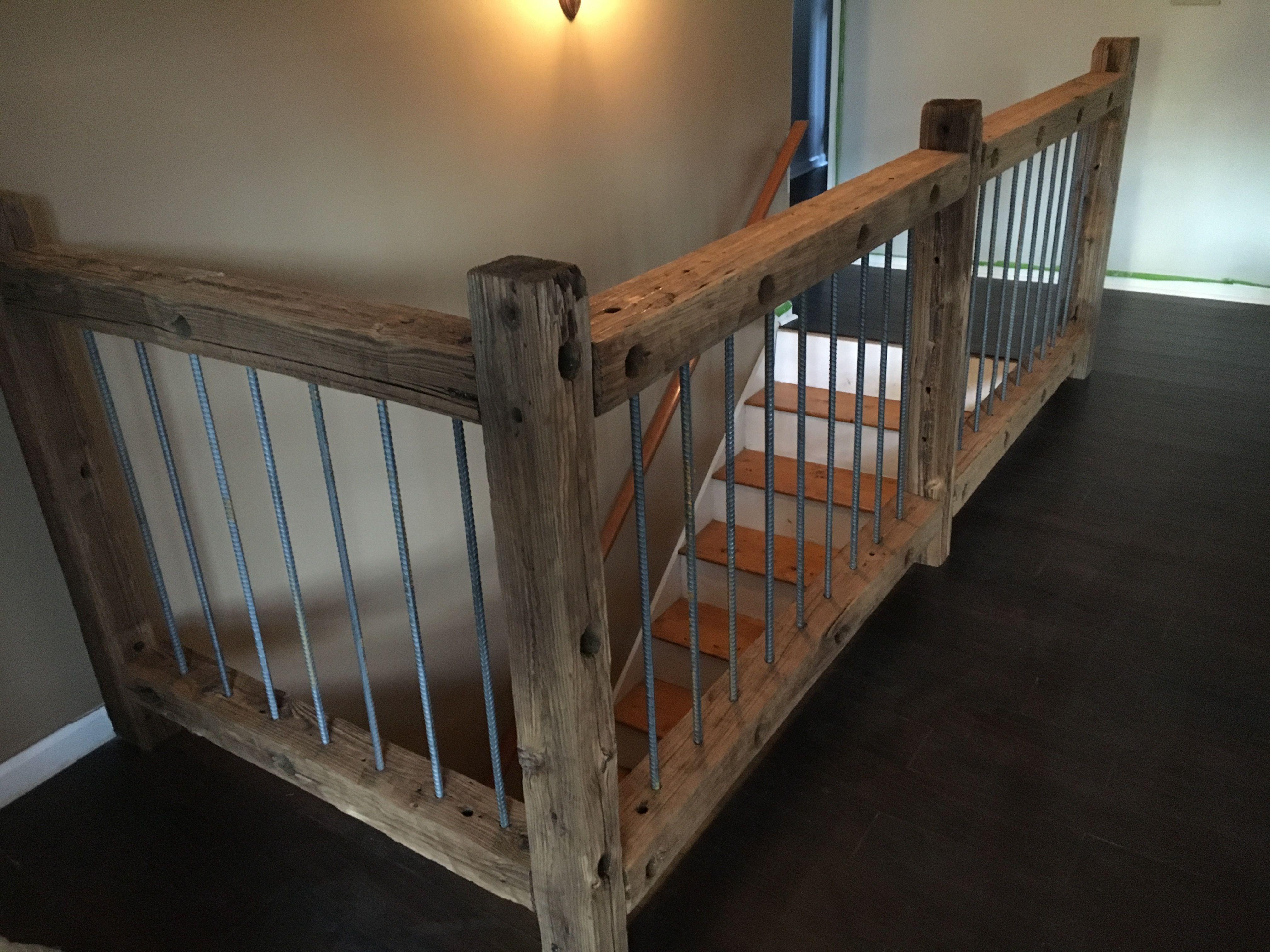 Rustic Mountian Stair Railings: Stairs Railings In 2019
