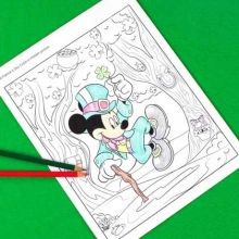 Free Disney St Patrick S Day Printables And Activities Mickey Mouse Coloring Pages Mickey Coloring Pages Disney Coloring Pages