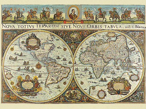 Old world map jigsaw puzzle if you love map puzzles youll love this collection of old world map jigsaw puzzles antique looking old world maps are so cool and if youre after a bit of gumiabroncs Image collections