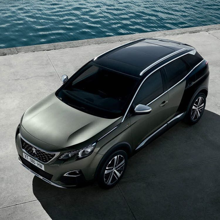 Say Hello To The New #SUVPeugeot3008GT : #SUV Temper, GT