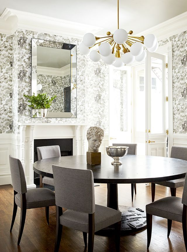 Townhouse Dining Room Ideas Part - 19: Inside A Striking Townhouse In San Franciscou0027s Most Famous Neighborhood.  Pacific HeightsDinner RoomDining ...