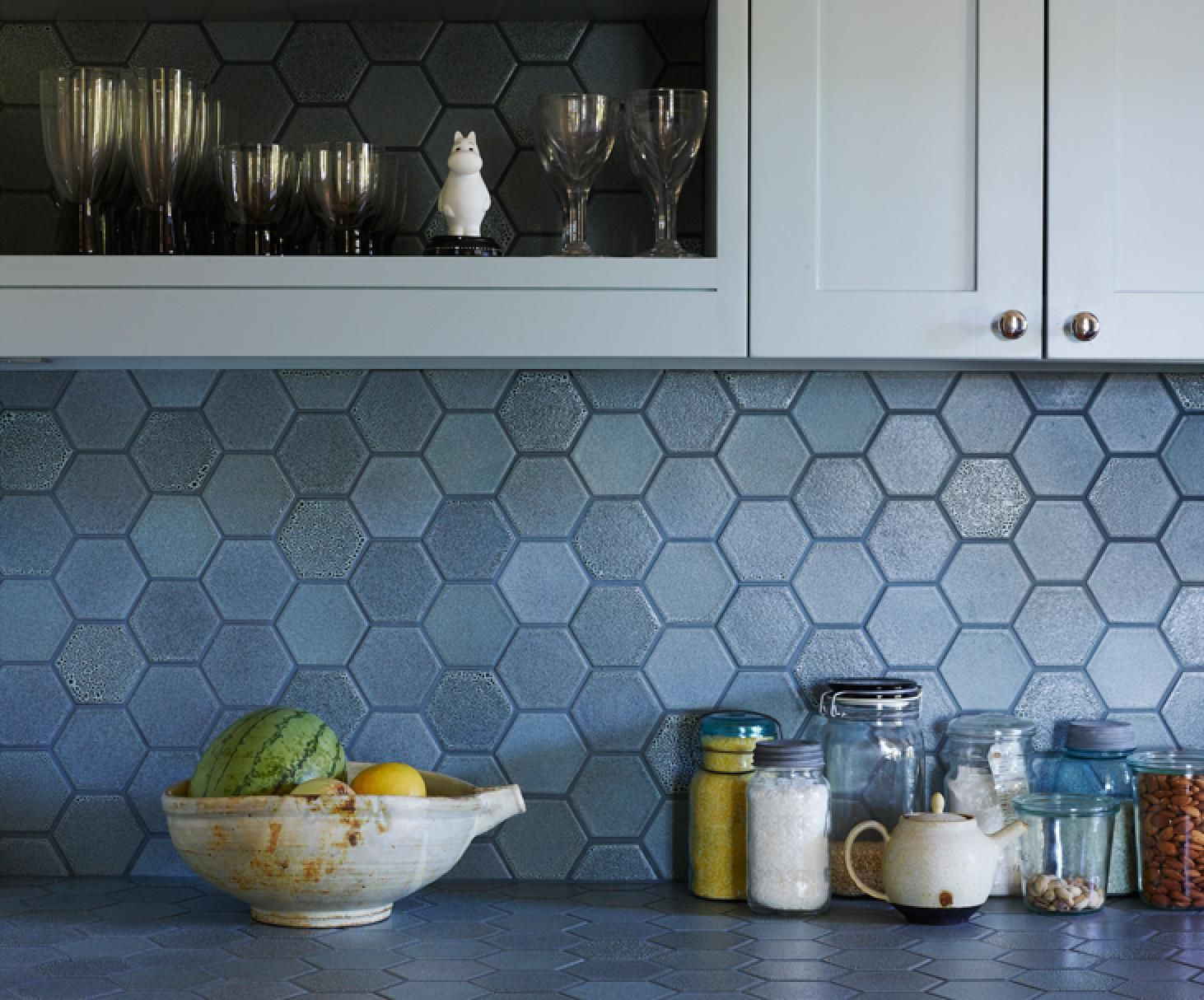 Heath Tile Layered Glazes add texture that\'s subtle and nuanced from ...
