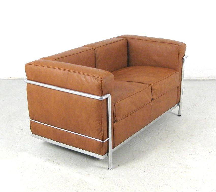Le Corbusier Leather Sofa Le Corbusier Lc5 3 Seater Sofa Cina Ambientedirect Thesofa