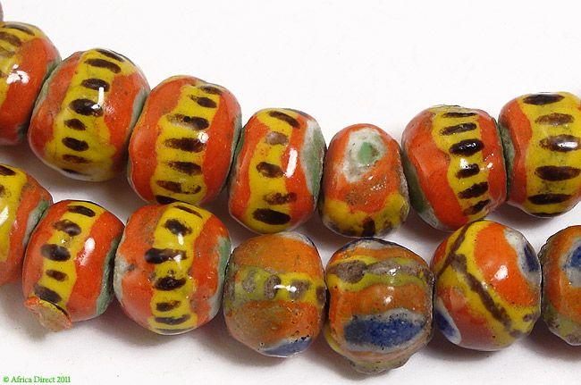 Kiffa Beads Powder Glass New Mauritanian African - African ...