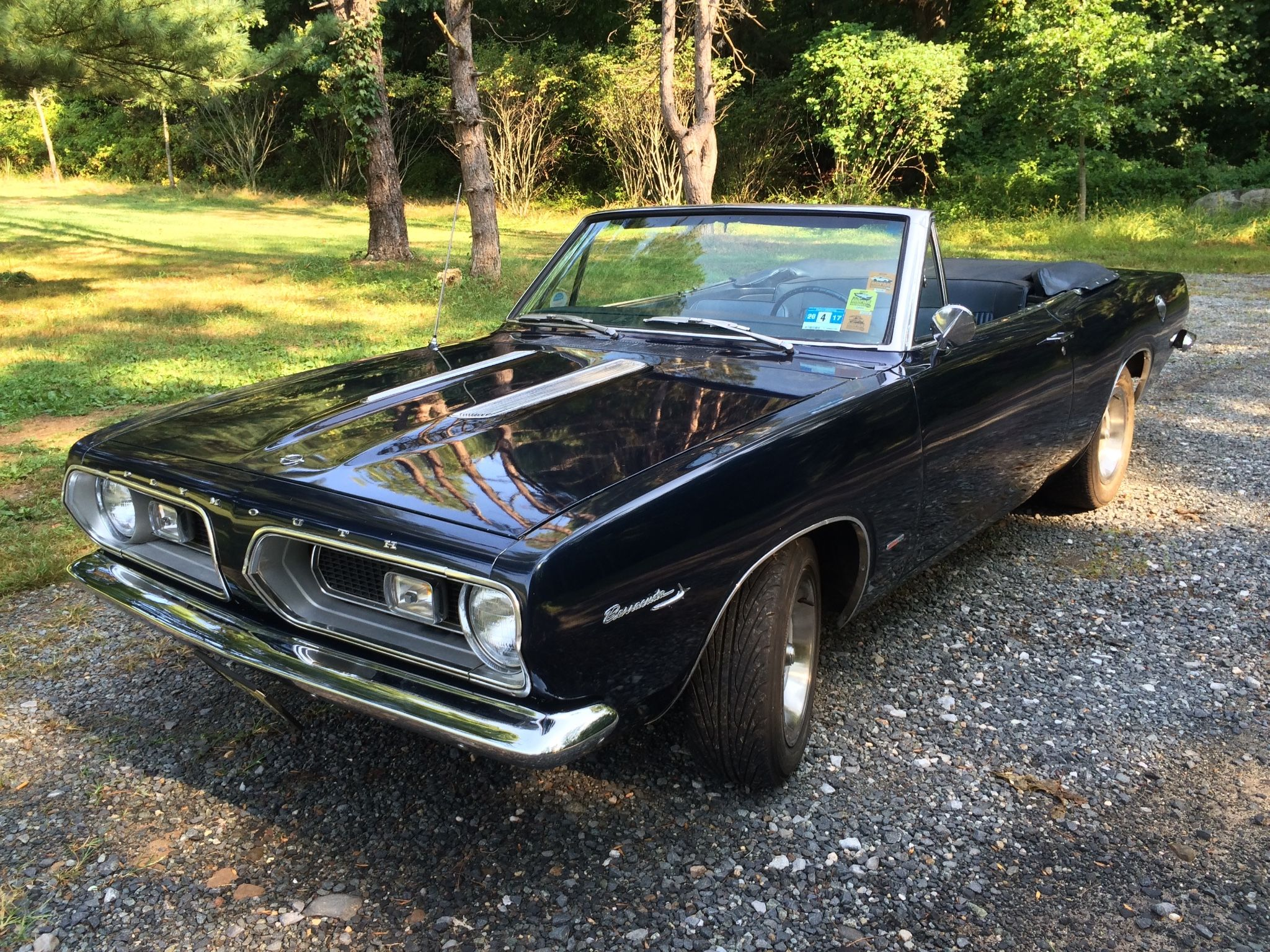 1967 Plymouth Barracuda Convertible 4-Speed