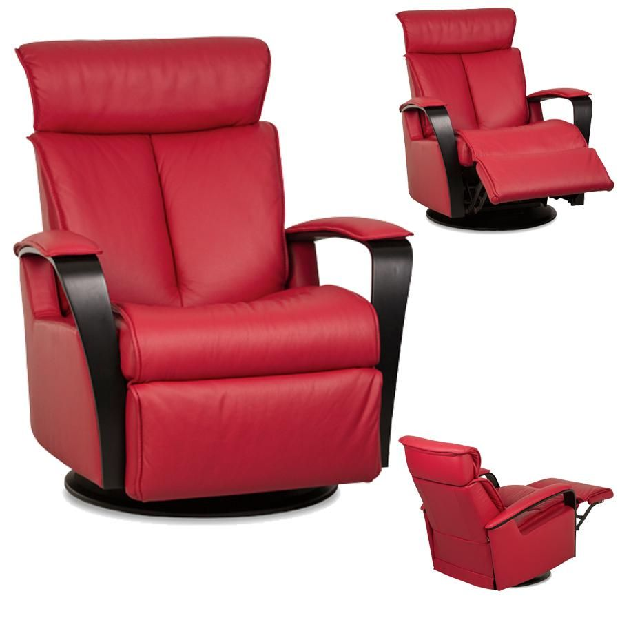 The Majesty leather recliner offers unsurpassed comfort with high quality and space efficient design. This relaxer gives you a glide reclining swivel as ...  sc 1 st  Pinterest : small contemporary recliners - islam-shia.org