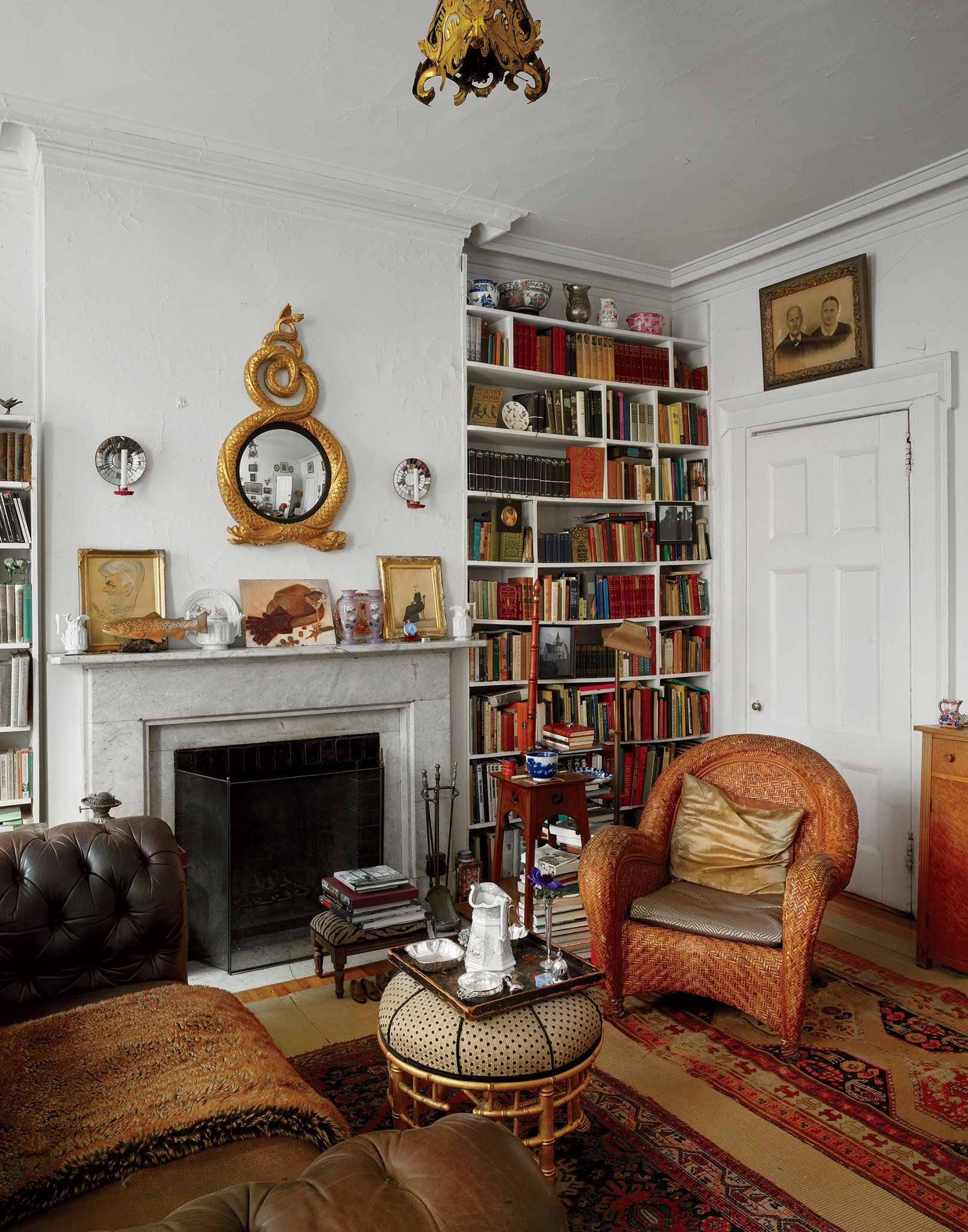 Apartment 4 a corner of simpsons antiques filled living room photo byanthony cotsifas a group of friends in a townhouse on east ninth street live a