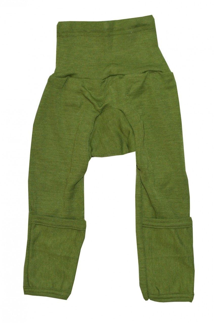 7fa6f3645 Cosilana Organic Wool  Silk Baby Pants with Optional Feet