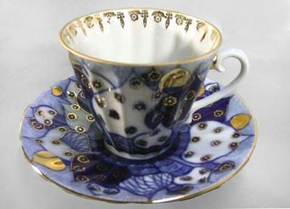 antique russian tea cups & saucers - Google Search