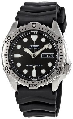 Seiko Men'S Skx171 Black Dial Diver Watch Skx171