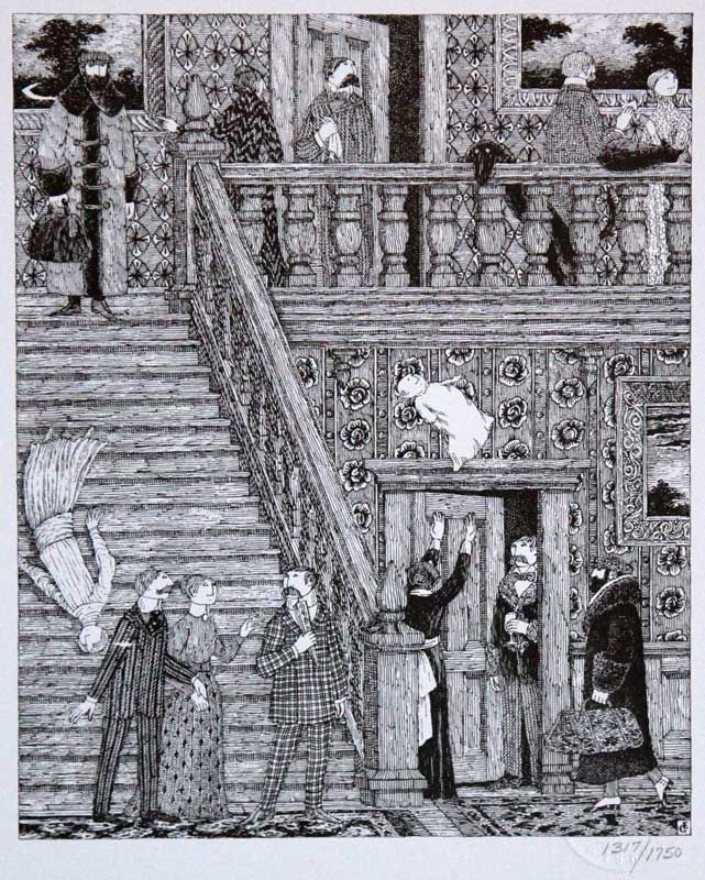 Drawing By Gorey. Edward St. John Gorey (Feb 22, 1925