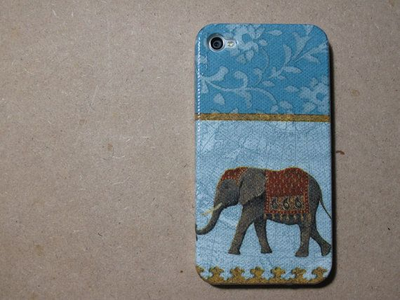 Thai elephant 4s case/ iphone 4s cover / iPhone 4 Case by piimism, $16.50