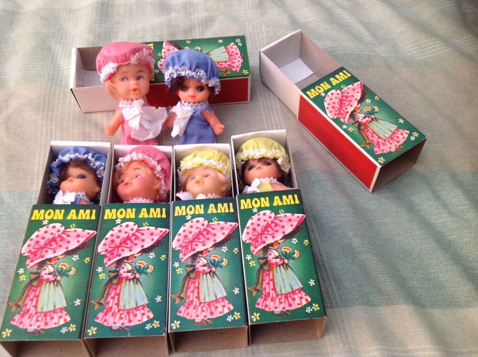 Rare Vintage Mon Ami Miniature Matchbox Doll | Vintage dolls, Dolls,  Matchbox