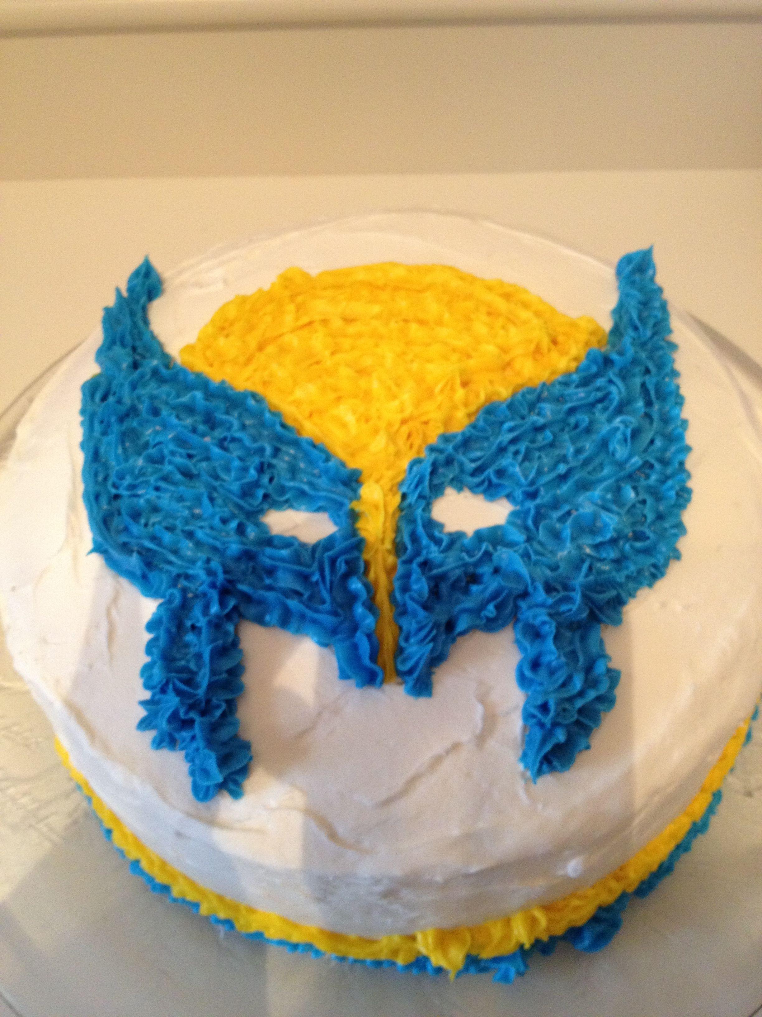 X Men Wolverine birthday cake   Let them eat cake!   Pinterest ...