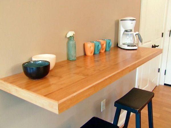 22++ Table cuisine fixee au mur ideas