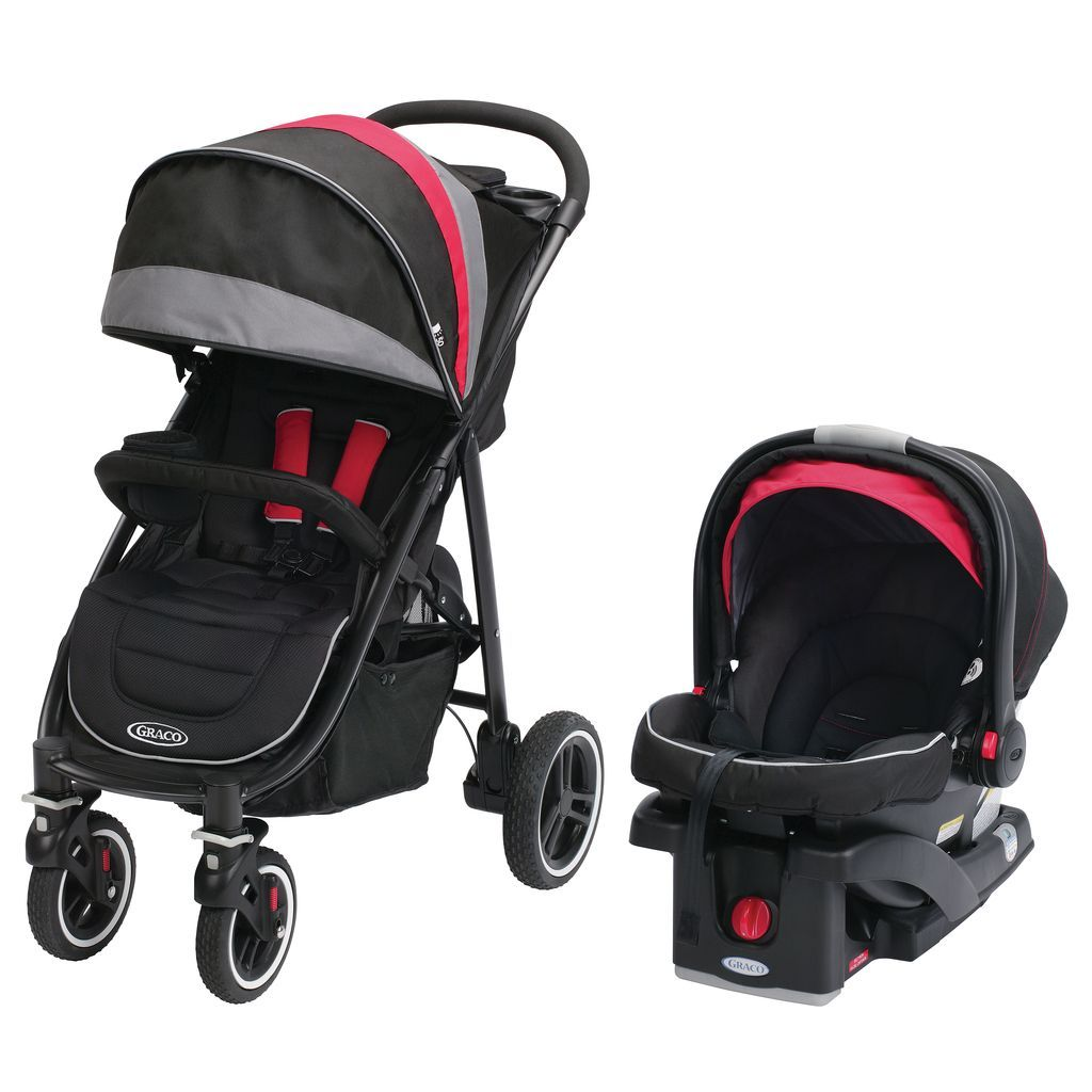 Travel safely with this baby travel system from Graco. Durable ...