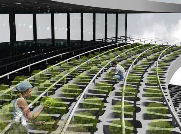 The Agricultural Urbanism Concept May Just Eliminate the Supermarket #architecture trendhunter.com