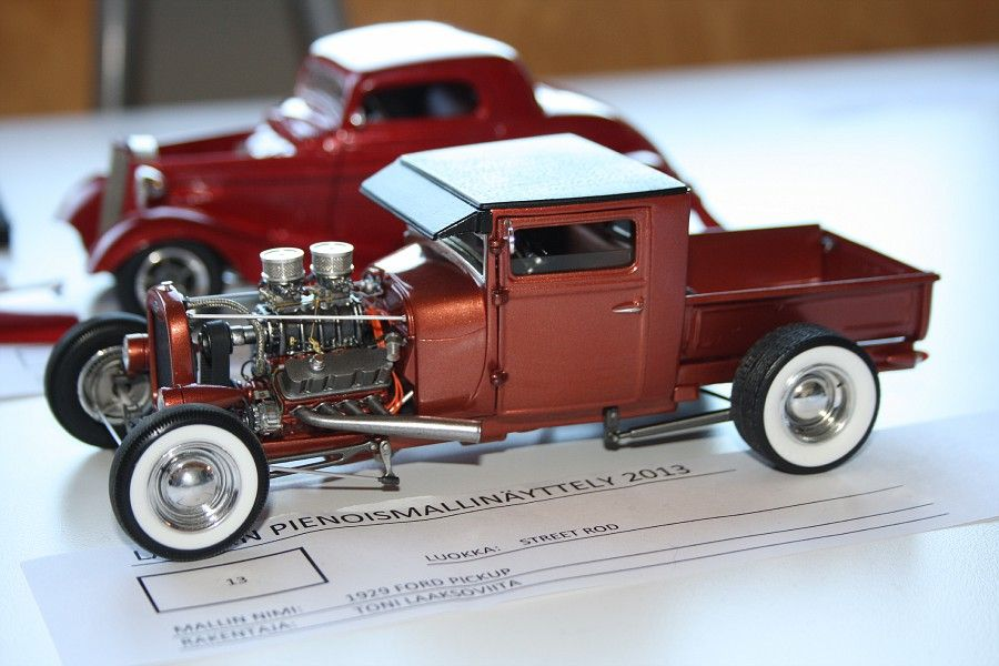 Hot Rod model kit. | Model Cars | Pinterest | Models, Model car and ...