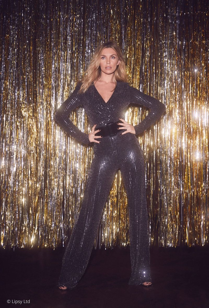 2b0fb79129 Abbey Clancy Turns Up the Glam Factor with Lipsy London