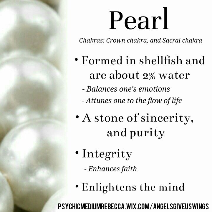 Pearl crystal meaning | Crystal meanings | Pinterest ...