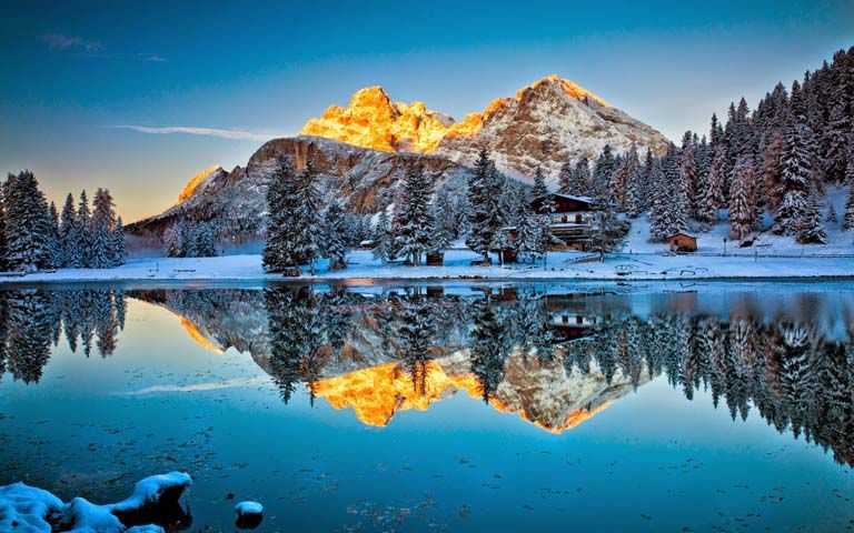 35 Iconic Reflection Pictures To Amaze You Creative Lunatics Paysage Hiver Fond Ecran Nature Arriere Plan