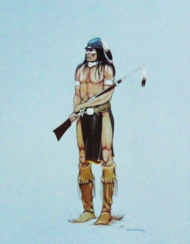 Indian Scout by David Williams, Apache/Kiowa/Tonkawa | Native Arts ...
