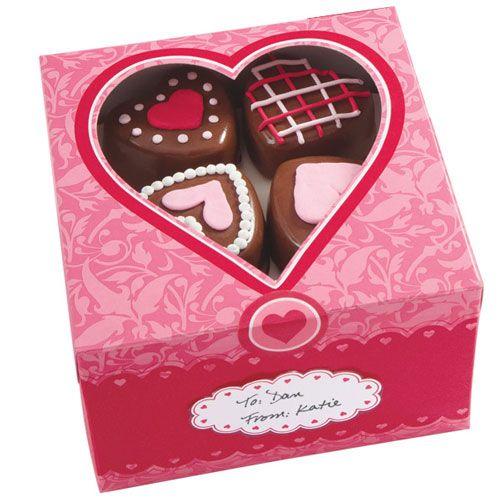 Resultado de imagen para caja galletas san valentin