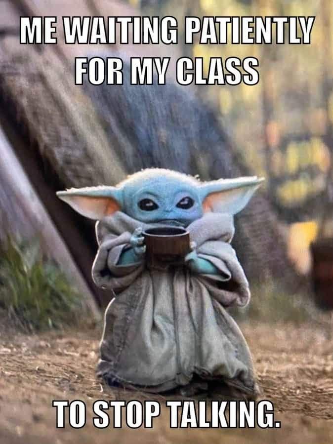 Pin By Jenny Cabrera M On Teacher Humor Yoda Funny Yoda Meme Funny Memes