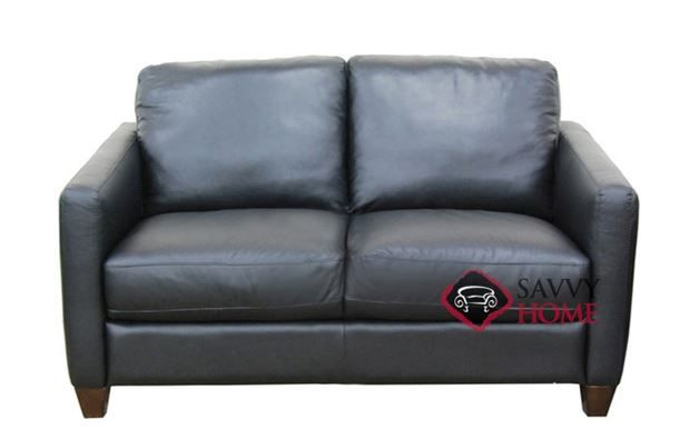 Swell Roya Leather Loveseat By Natuzzi Editions B735 005 Gmtry Best Dining Table And Chair Ideas Images Gmtryco