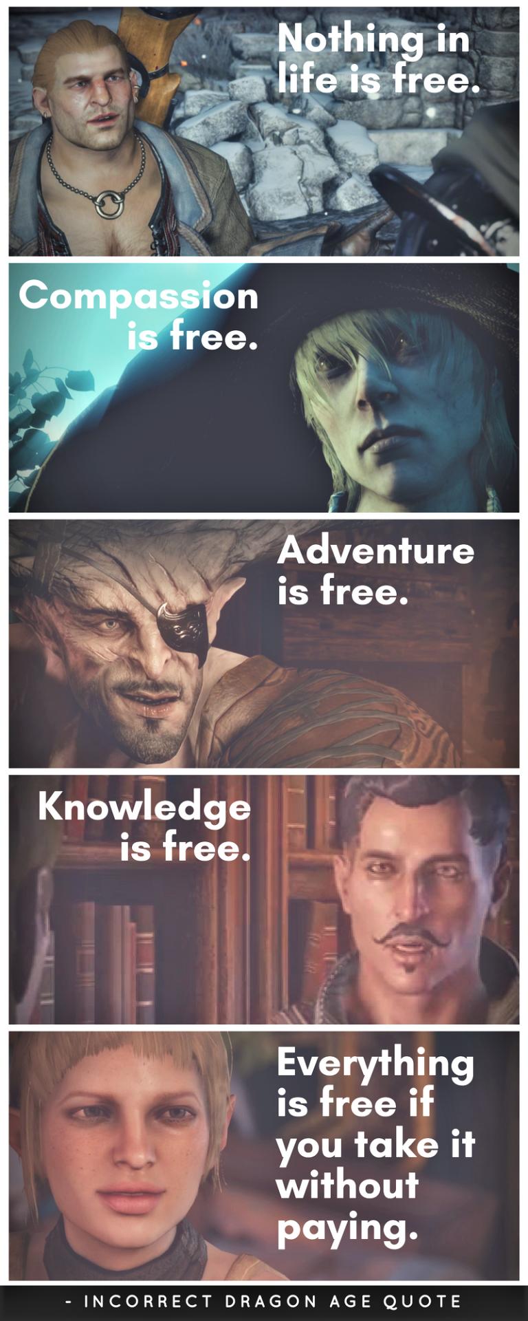 Authors Love Books Dragon Age Funny Dragon Age Memes Dragon