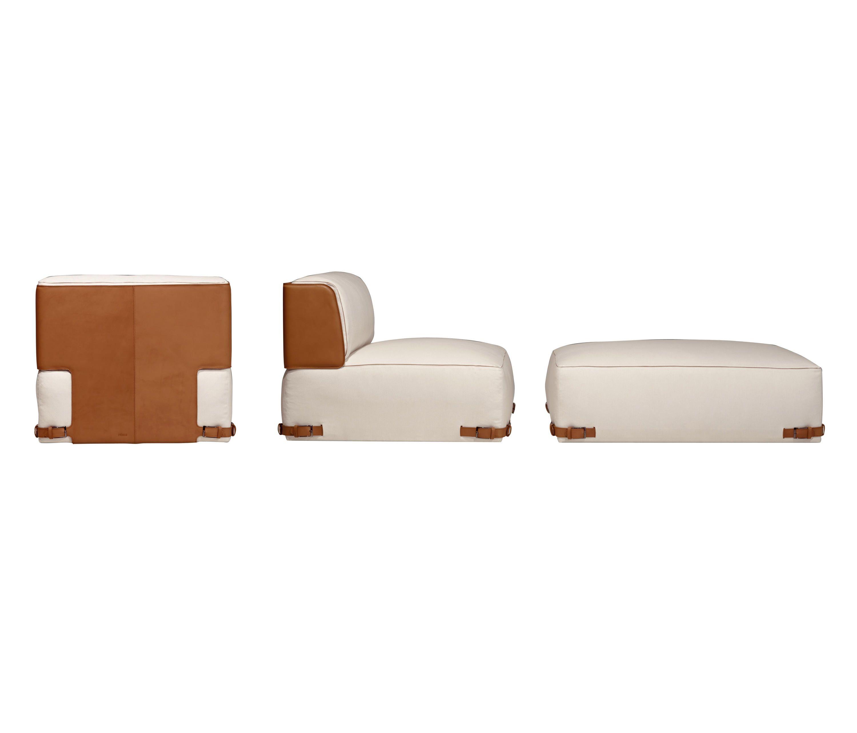 Soho Element Pouf Di Fendi Casa Poltrone Lounge Furniture  # Muebles Fendi Casa