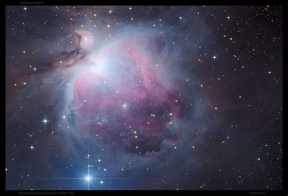 The Great Nebula in Orion ( Messier 42, NGC 1976 ) by Mike O'Day ( 500px.com/mikeoday ) by Mike O'Day on 500px