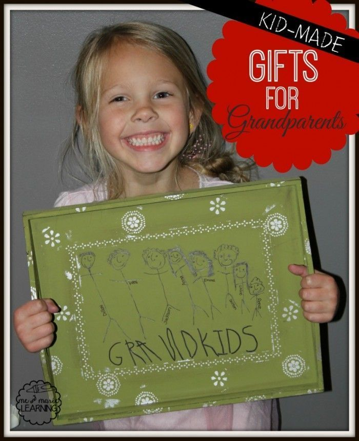Homemade Gifts for Grandparents | Pinterest | Grandparents, Homemade ...