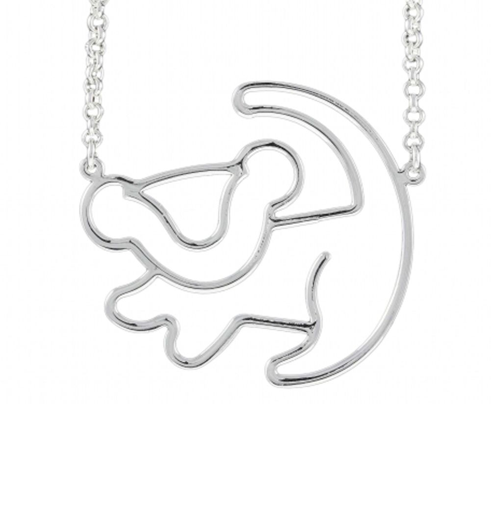 Jewellery Watches Other Costume Jewellery Official Platinum Plated Simba Outline Lion King Necklace From Disney Couture ✓ free for commercial use ✓ high quality images. gugu ba