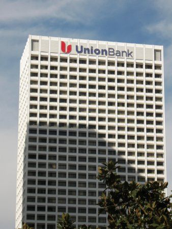 Union Bank Building Los Angeles A C Martin Associates 1967 Banks Building Union Bank Building