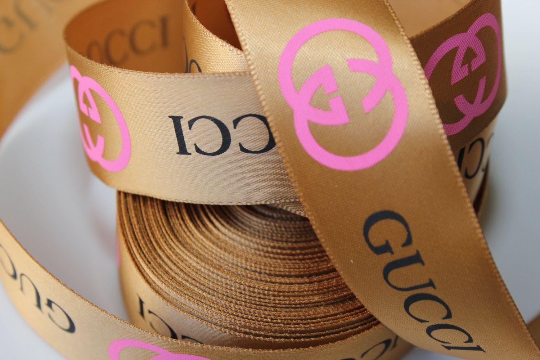 c93cf0046ae 2 Yards Gucci Inspired Silk Polyester Ribbon 1 by GigisRibbonRule