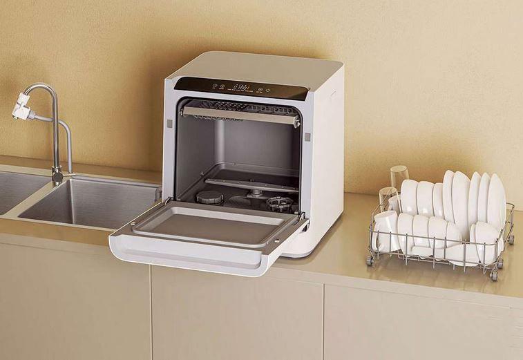 Voice Controlled Countertop Dishwashers Mutfak