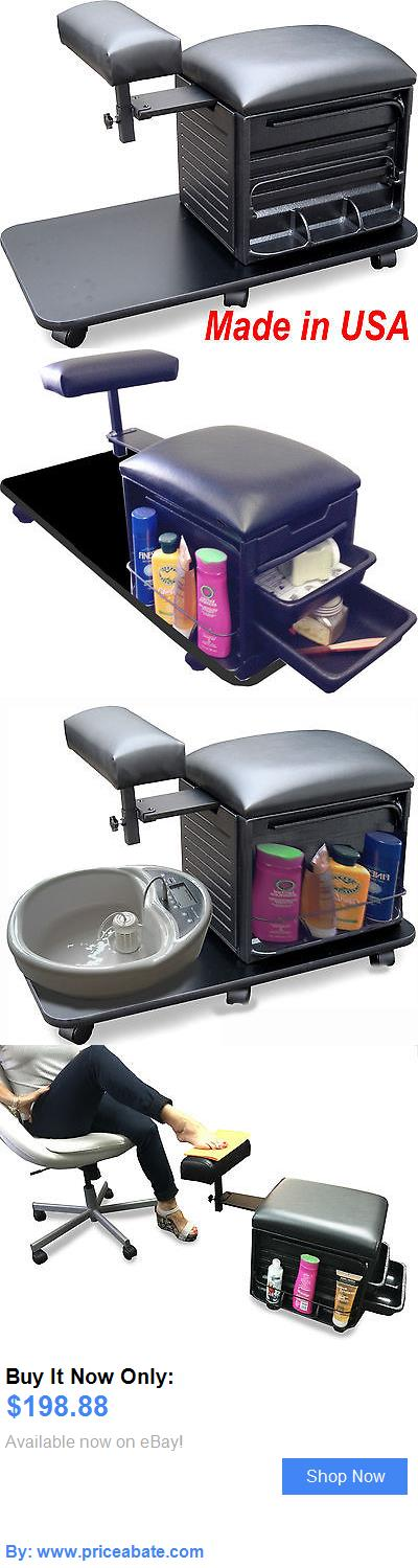 Salon And Spa Equipment: Manicure Pedicure Stool Chair Nail Salon W/Board 2317 Spa Equipment By Dina Meri BUY IT NOW ONLY: $198.88 #priceabateSalonAndSpaEquipment OR #priceabate