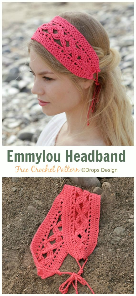 Fabulous Women Headband Free Crochet Patterns • DIY How To