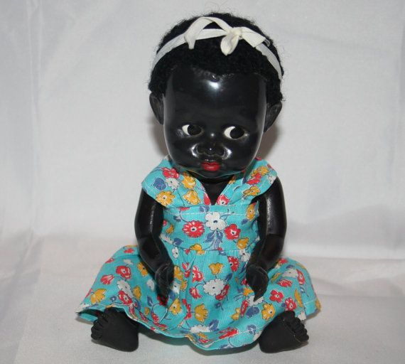 Rare Vintage Pedigree Doll Made In England Memsartshop Black Dolls Vintage Vintage Dolls Plastic Doll