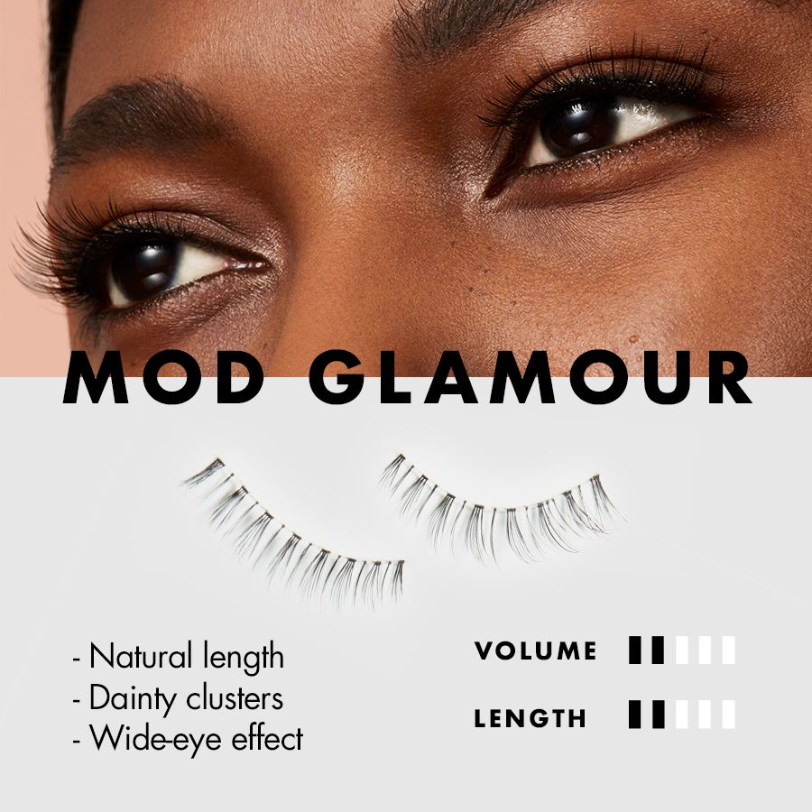 a366b0fe72d 60s Twiggy Lashes - Mod Glamour Luxe Lash Kit | e.l.f. Cosmetics Best Fake  Eyelashes,