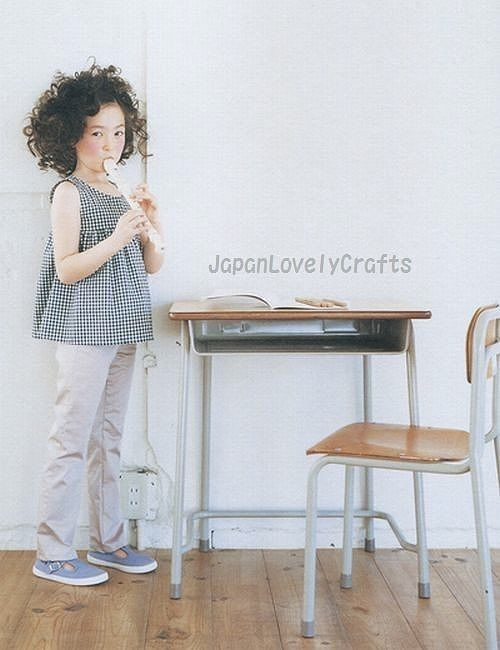 KIDS CASUAL CLOTHES BY RURIKO YAMADA - JAPANESE SEWING PATTERN BOOK ...