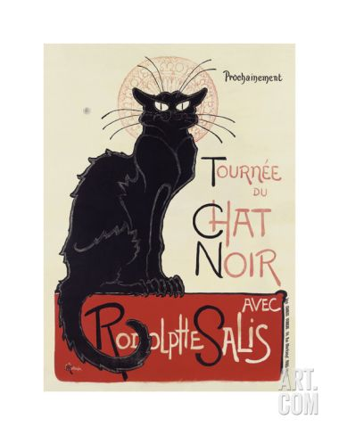 Tournée du Chat Noir, c.1896 Print by Théophile Alexandre Steinlen at Art.com