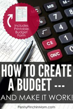 How To Create A Budget That Will Work  Budgeting Personal