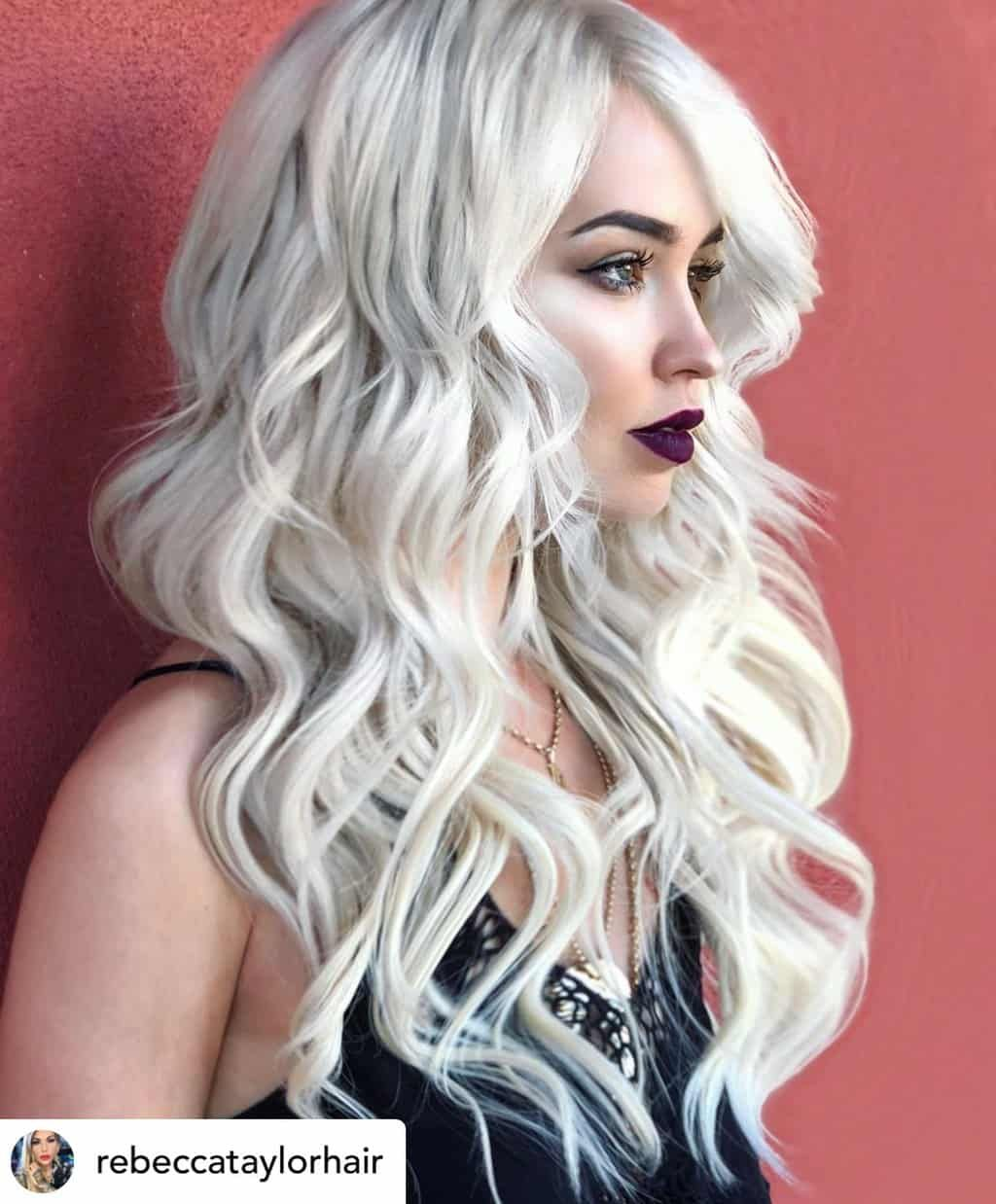 10 Ultra-Cool Shades of Winter Hair Color For 2019 #winterhaircolor